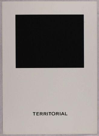 シルクスクリーン Agnetti - Territorial from 'Spazio perduto e spazio costruito' portfolio, Plate B