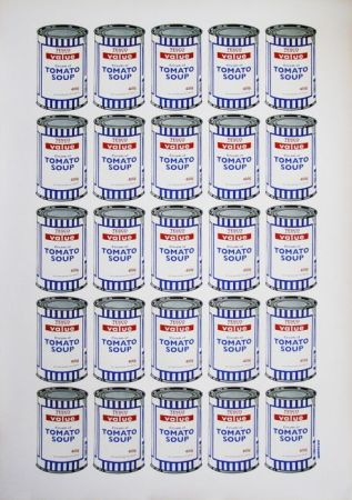 リトグラフ Banksy - Tesco Soup Can