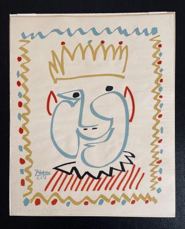 技術的なありません Picasso - Tete de Roi (Le Carnaval de Nice)