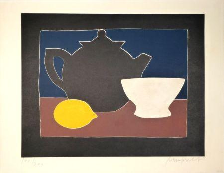 アクチアント Mumprecht - Théière, bol et citron