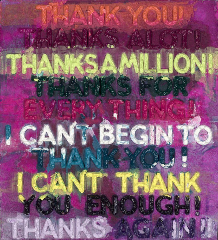 モノタイプ Bochner - Thank You