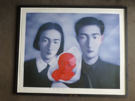 リトグラフ Zhang - The big family number 9