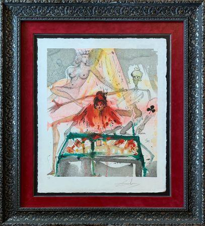 リトグラフ Dali - The Cards Spell Death to Carmen