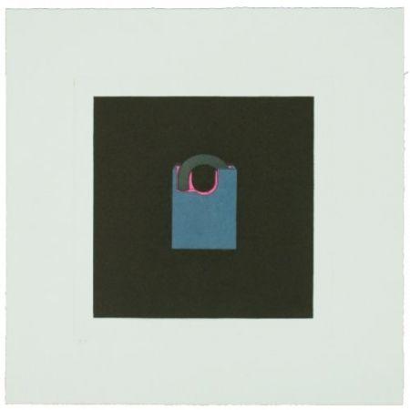 彫版 Craig-Martin - The Catalan Suite I - Padlock