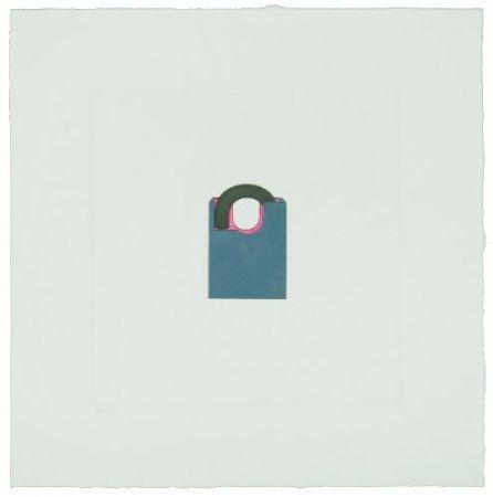 彫版 Craig-Martin - The Catalan Suite II - Padlock