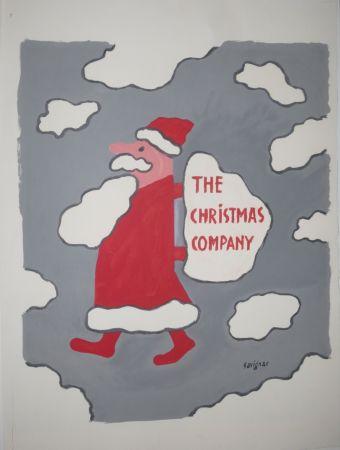 リトグラフ Savignac - The christmas company