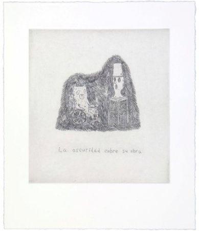 彫版 Kaga - The darkness covers his work