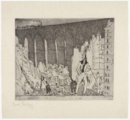 彫版 Feininger - The Disparagers