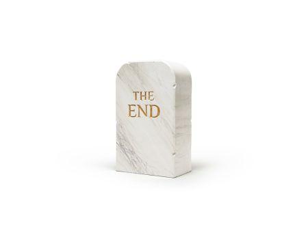 技術的なありません Cattelan - The End (marble)