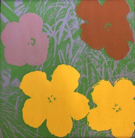 シルクスクリーン Warhol - The Flowers