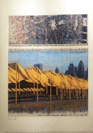 リトグラフ Christo - THE GATES MACBA BARCELONA 56X76