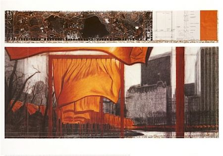 リトグラフ Christo - The Gates (P)