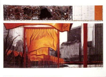 オフセット Christo - The Gates XIX