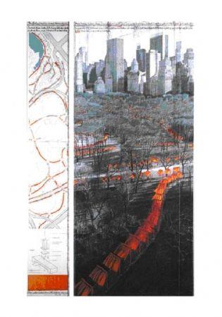 オフセット Christo - The Gates XXIX