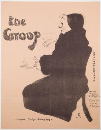 リトグラフ Levine - The Group