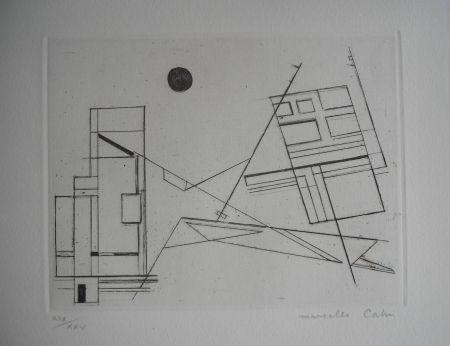 エッチング Cahn - The international avant garde 4