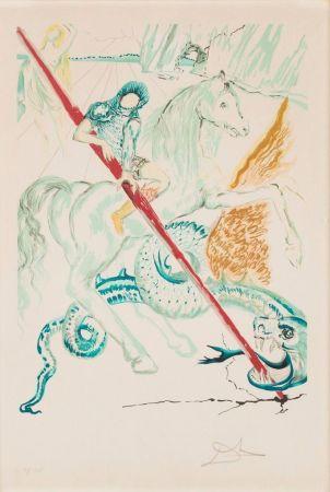 リトグラフ Dali - The Lance Of Chivalry