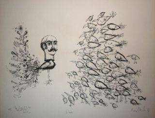 リトグラフ Scharf - The leader