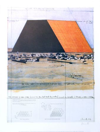 技術的なありません Christo - THE MASTABA OF ABU DHABI