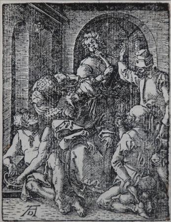 木版 Durer - The Mocking of Christ (The Small Passion), 1612
