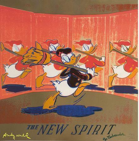 オフセット Warhol - The New Spirit (Donald Duck),