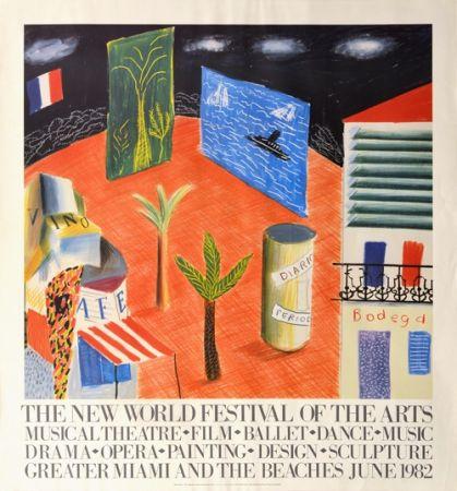 技術的なありません Hockney - The New World Festival of the Arts, Miami