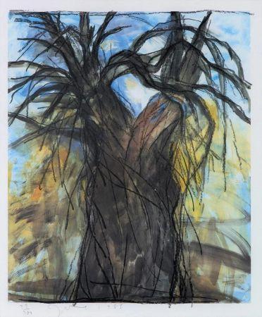 リトグラフ Dine - The New Year's Tree