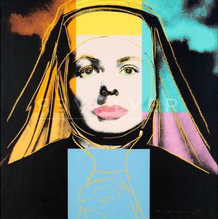 シルクスクリーン Warhol - The Nun, Ingrid Bergman (Fs Ii.314)