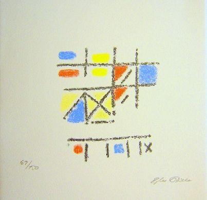 リトグラフ Bille - The Pictorial Image