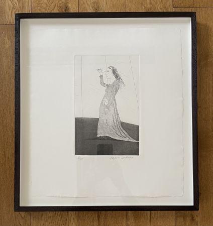 エッチングと アクチアント Hockney -  The Princess Searching