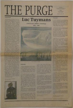 挿絵入り本 Tuymans - The Purge – schilderijen / Bilder / Paintings 1991 - 1998