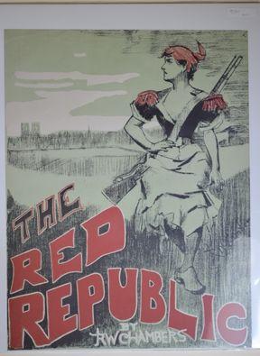リトグラフ Chambers - The Red Republic