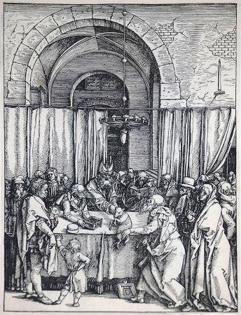 木版 Durer - The Rejection of Joachim's Offering (The Life of the Virgin), c. 1504