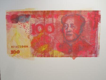 シルクスクリーン Lawrence - The RMB Series #3