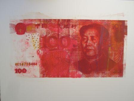 シルクスクリーン Lawrence - The RMB Series #6