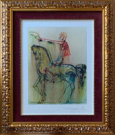 リトグラフ Dali - The Roman Cavalier (Le Chevalier Roman)