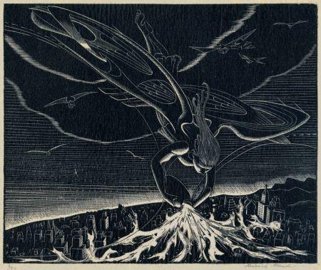 彫版 Mead - The Seventh Angel (Revelations: XVI)