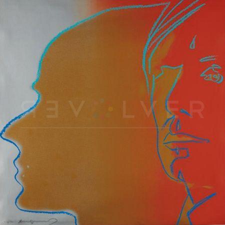 シルクスクリーン Warhol - The Shadow (Fs Ii.267)