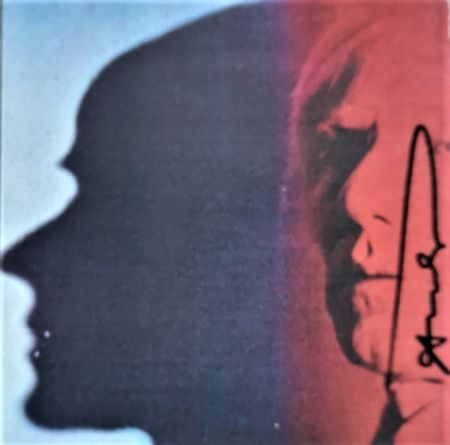 シルクスクリーン Warhol - The Shadow