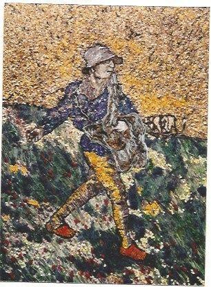 オフセット Muniz - The Sower, after Van Gogh