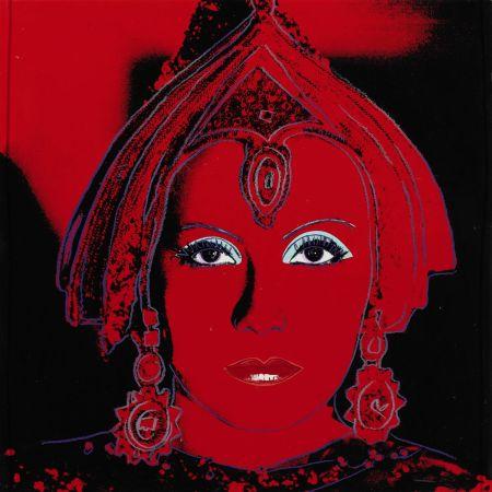シルクスクリーン Warhol - The Star (FS II.258)