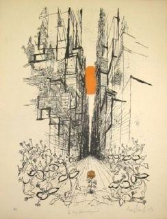 リトグラフ Searle - The thing from underground