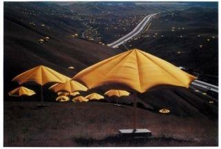 オフセット Christo - The Umbrellas, Japan - USA 1984-91