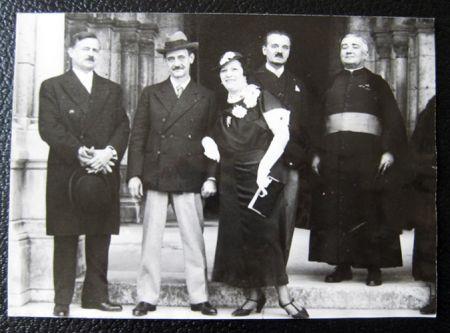 写真 Utrillo - The wedding of Maurice Utrillo and Lucie Valore