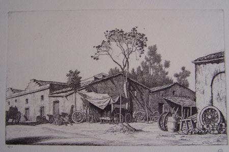 彫版 Strang - The Wheelwright's Shop