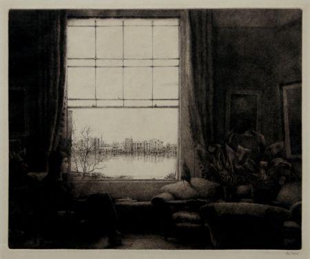 彫版 Fridell - The Window, Wauxhall, London