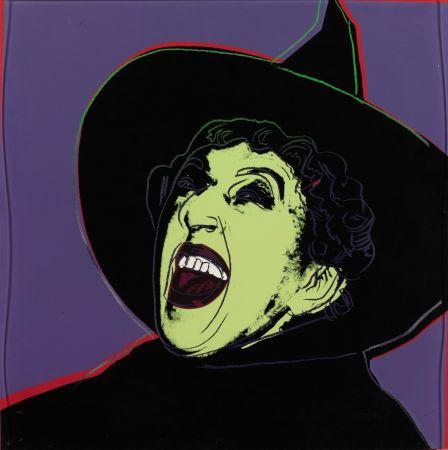 シルクスクリーン Warhol - The Witch (FS II.261)