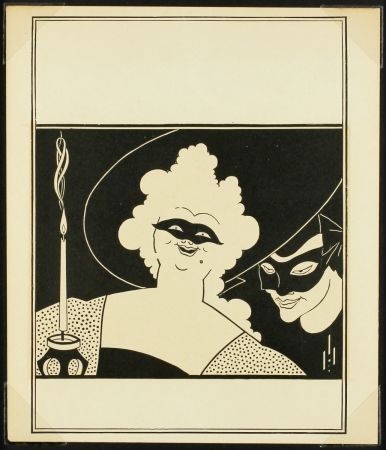 Relief Beardsley - The Yellow Book