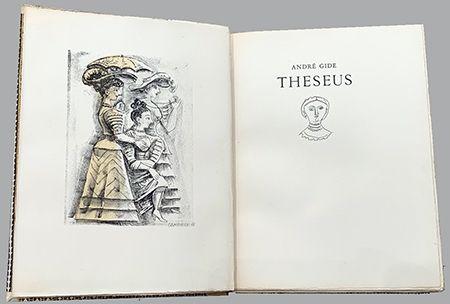 挿絵入り本 Campigli - Theseus