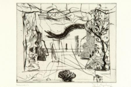 ポイントーセッシュ Kentridge - Thinking Aloud, Small Thoughts, Stage Set With Serpent